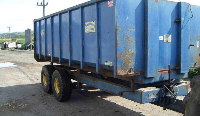 EASTERBY 10T GRAIN TRAILER for sale in North Yorkshire full