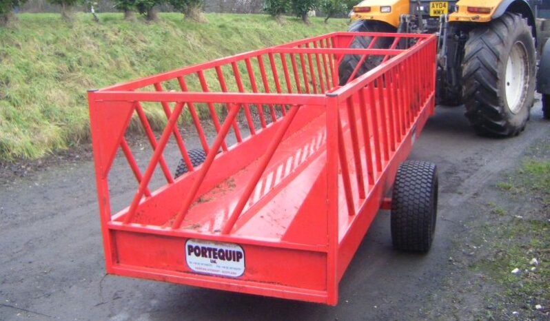 Portequip Sheep Feeder for sale in North Yorkshire full