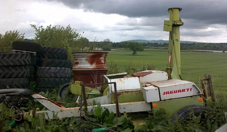 Used Claas 71 trailed forageharvester for sale full