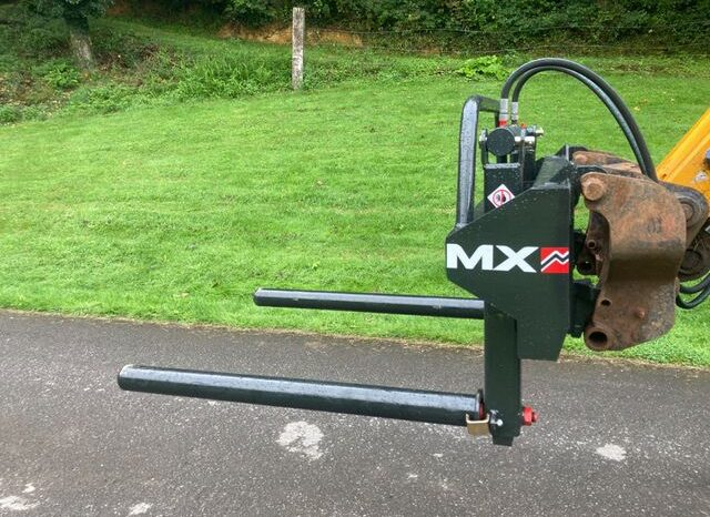 MX Round bale handler on Euro brackets £1,195 for sale in Gloucestershire full